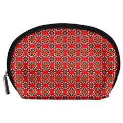 Floral Seamless Pattern Vector Accessory Pouches (Large)