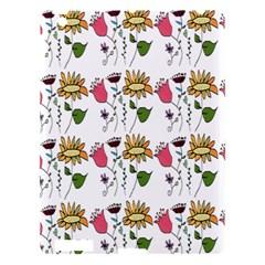 Handmade Pattern With Crazy Flowers Apple Ipad 3/4 Hardshell Case