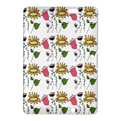 Handmade Pattern With Crazy Flowers Kindle Fire HDX 8.9  Hardshell Case