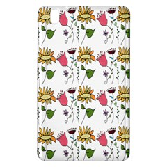 Handmade Pattern With Crazy Flowers Samsung Galaxy Tab Pro 8 4 Hardshell Case