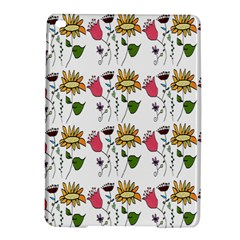 Handmade Pattern With Crazy Flowers Ipad Air 2 Hardshell Cases