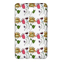 Handmade Pattern With Crazy Flowers Samsung Galaxy Tab 4 (8 ) Hardshell Case