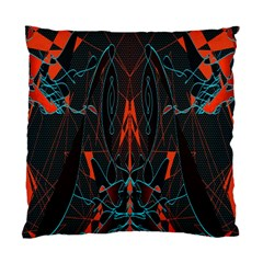 Doodle Art Pattern Background Standard Cushion Case (Two Sides)