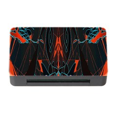 Doodle Art Pattern Background Memory Card Reader with CF