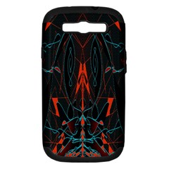 Doodle Art Pattern Background Samsung Galaxy S Iii Hardshell Case (pc+silicone)
