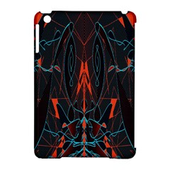 Doodle Art Pattern Background Apple Ipad Mini Hardshell Case (compatible With Smart Cover)