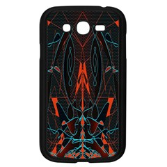 Doodle Art Pattern Background Samsung Galaxy Grand DUOS I9082 Case (Black)