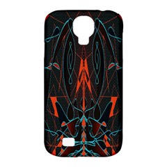 Doodle Art Pattern Background Samsung Galaxy S4 Classic Hardshell Case (pc+silicone)