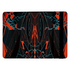 Doodle Art Pattern Background Samsung Galaxy Tab Pro 12.2  Flip Case