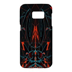 Doodle Art Pattern Background Samsung Galaxy S7 Hardshell Case