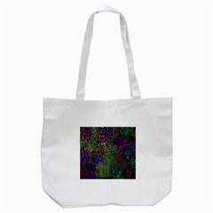 Grunge Rose Background Pattern Tote Bag (White)