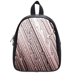 Vintage Pattern Background Wallpaper School Bags (small)