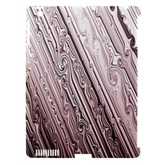 Vintage Pattern Background Wallpaper Apple Ipad 3/4 Hardshell Case (compatible With Smart Cover)