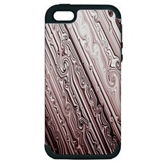Vintage Pattern Background Wallpaper Apple Iphone 5 Hardshell Case (pc+silicone)