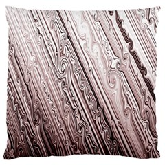 Vintage Pattern Background Wallpaper Large Flano Cushion Case (Two Sides)