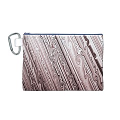 Vintage Pattern Background Wallpaper Canvas Cosmetic Bag (m)
