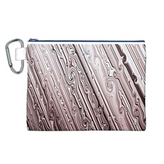 Vintage Pattern Background Wallpaper Canvas Cosmetic Bag (l)