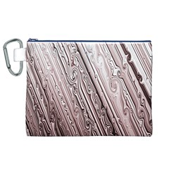 Vintage Pattern Background Wallpaper Canvas Cosmetic Bag (xl)