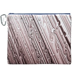 Vintage Pattern Background Wallpaper Canvas Cosmetic Bag (xxxl)