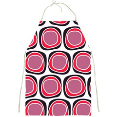 Wheel Stones Pink Pattern Abstract Background Full Print Aprons