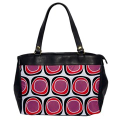 Wheel Stones Pink Pattern Abstract Background Office Handbags