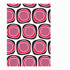 Wheel Stones Pink Pattern Abstract Background Small Garden Flag (two Sides)