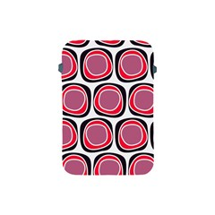 Wheel Stones Pink Pattern Abstract Background Apple Ipad Mini Protective Soft Cases