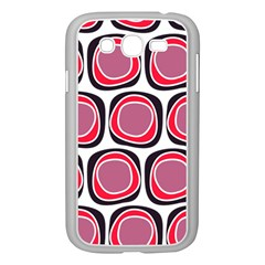 Wheel Stones Pink Pattern Abstract Background Samsung Galaxy Grand Duos I9082 Case (white)