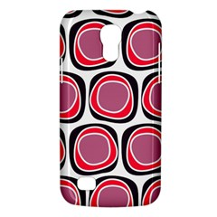 Wheel Stones Pink Pattern Abstract Background Galaxy S4 Mini