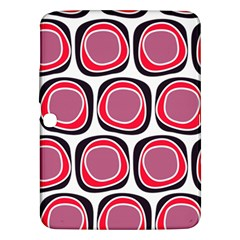 Wheel Stones Pink Pattern Abstract Background Samsung Galaxy Tab 3 (10.1 ) P5200 Hardshell Case