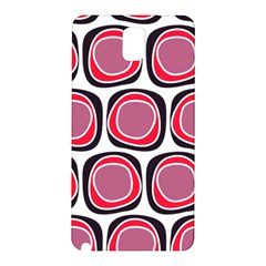 Wheel Stones Pink Pattern Abstract Background Samsung Galaxy Note 3 N9005 Hardshell Back Case