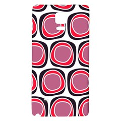Wheel Stones Pink Pattern Abstract Background Galaxy Note 4 Back Case