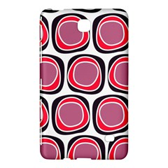 Wheel Stones Pink Pattern Abstract Background Samsung Galaxy Tab 4 (7 ) Hardshell Case