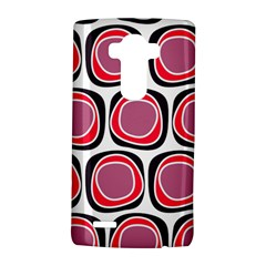 Wheel Stones Pink Pattern Abstract Background Lg G4 Hardshell Case