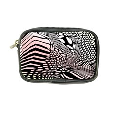 Abstract Fauna Pattern When Zebra And Giraffe Melt Together Coin Purse