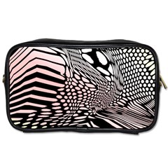 Abstract Fauna Pattern When Zebra And Giraffe Melt Together Toiletries Bags