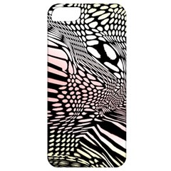 Abstract Fauna Pattern When Zebra And Giraffe Melt Together Apple iPhone 5 Classic Hardshell Case