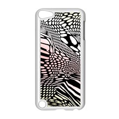 Abstract Fauna Pattern When Zebra And Giraffe Melt Together Apple Ipod Touch 5 Case (white)