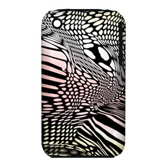 Abstract Fauna Pattern When Zebra And Giraffe Melt Together Iphone 3s/3gs