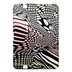 Abstract Fauna Pattern When Zebra And Giraffe Melt Together Kindle Fire Hd 8 9