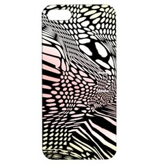 Abstract Fauna Pattern When Zebra And Giraffe Melt Together Apple iPhone 5 Hardshell Case with Stand
