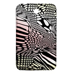 Abstract Fauna Pattern When Zebra And Giraffe Melt Together Samsung Galaxy Tab 3 (7 ) P3200 Hardshell Case