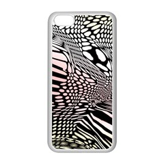 Abstract Fauna Pattern When Zebra And Giraffe Melt Together Apple iPhone 5C Seamless Case (White)