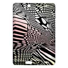 Abstract Fauna Pattern When Zebra And Giraffe Melt Together Amazon Kindle Fire Hd (2013) Hardshell Case