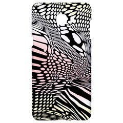 Abstract Fauna Pattern When Zebra And Giraffe Melt Together Samsung C9 Pro Hardshell Case