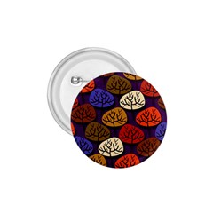 Colorful Trees Background Pattern 1.75  Buttons