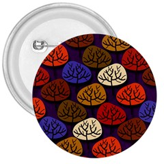 Colorful Trees Background Pattern 3  Buttons