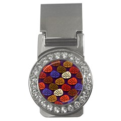 Colorful Trees Background Pattern Money Clips (cz)