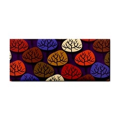 Colorful Trees Background Pattern Cosmetic Storage Cases