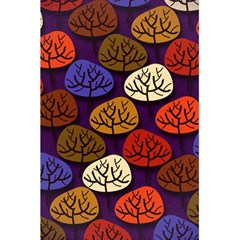 Colorful Trees Background Pattern 5.5  x 8.5  Notebooks